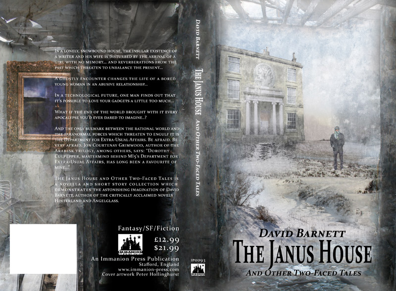 Cover for 'The Janus House' by David Barnett, Immanion Press